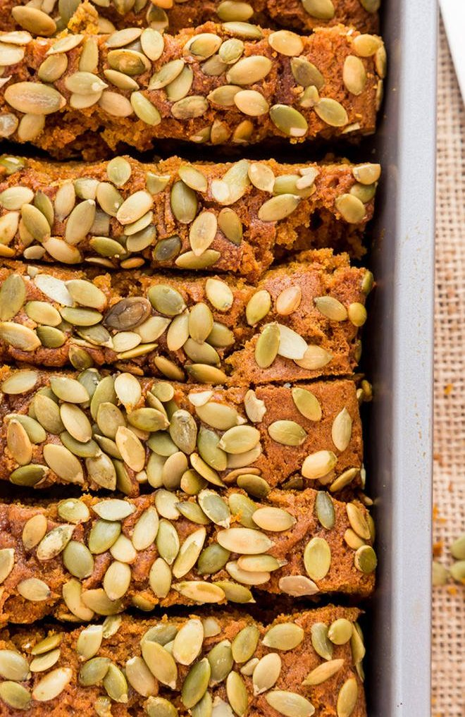 quick mix for pumpkin seed bread